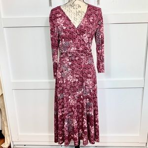 Floral pattern dress Danielle Benjamin
